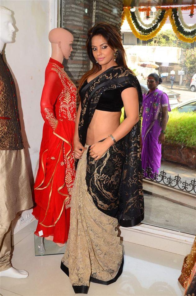 Neetu Chandra In Saree