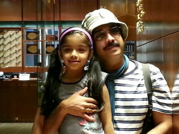actor-vineeth daughter