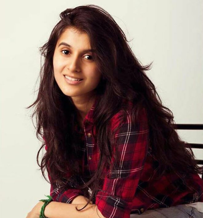 Actress sanjana sarathy
