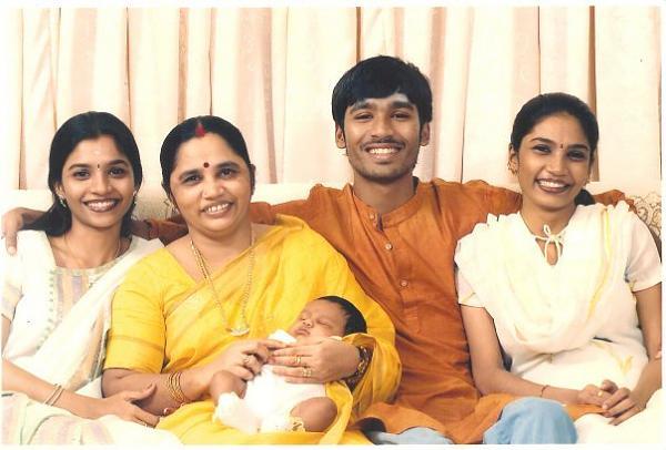 actor dhanush sisters