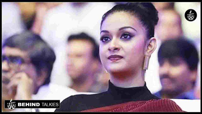 Actress Keerthi suresh