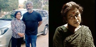 kalairani & ajith in viswasam movie