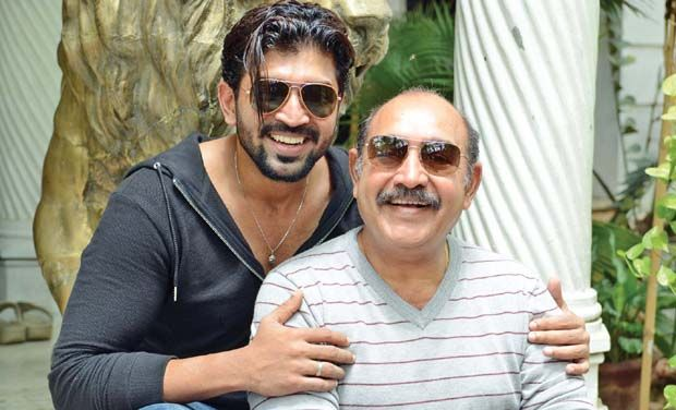 Arun Vijay and father Vijayakumar