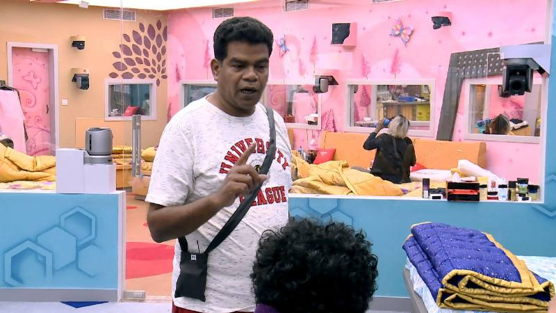 Ponnambalam-In-The-Bigg-Boss-House