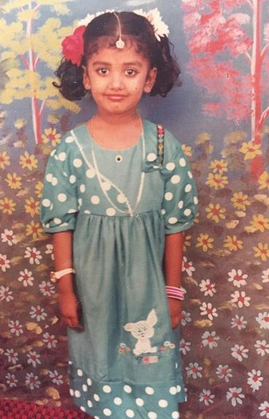 Riythvika-Childhood-Picture