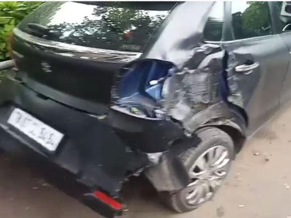 vikram-son-car-accident