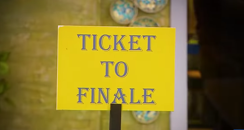 ticket to finale