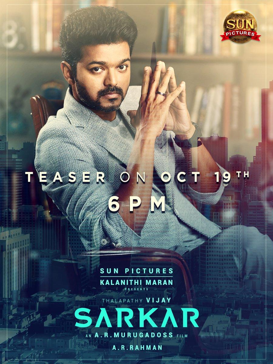 Sarkar teaser