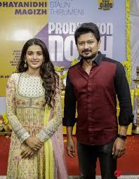 Udhayanidhi Stalin and Magizh Thirumeni New Movie Launch